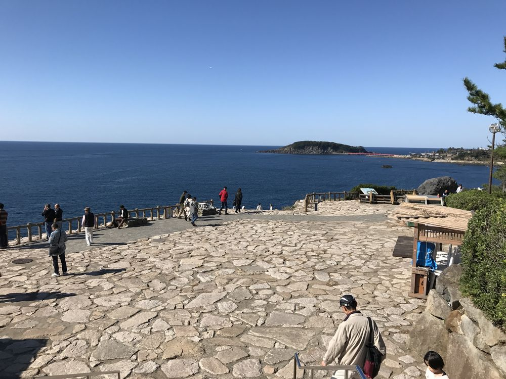 東尋坊の日本海2