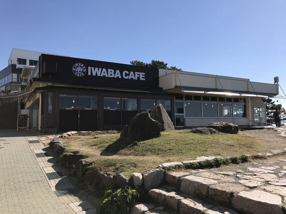 東尋坊のIWABA CAFE外観
