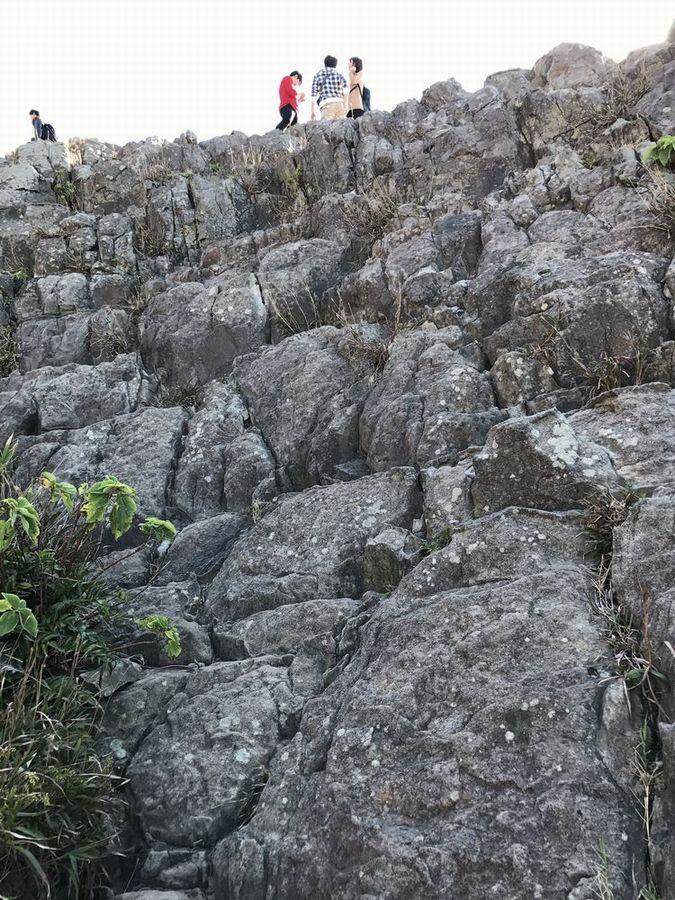 東尋坊の断崖絶壁8