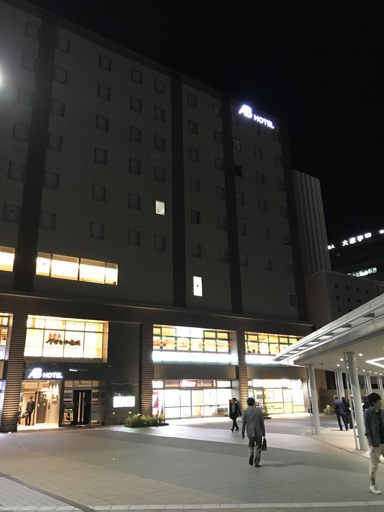 ABホテル金沢の外観(夜)