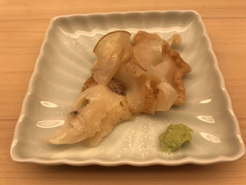 鮨木場谷のつぶ貝