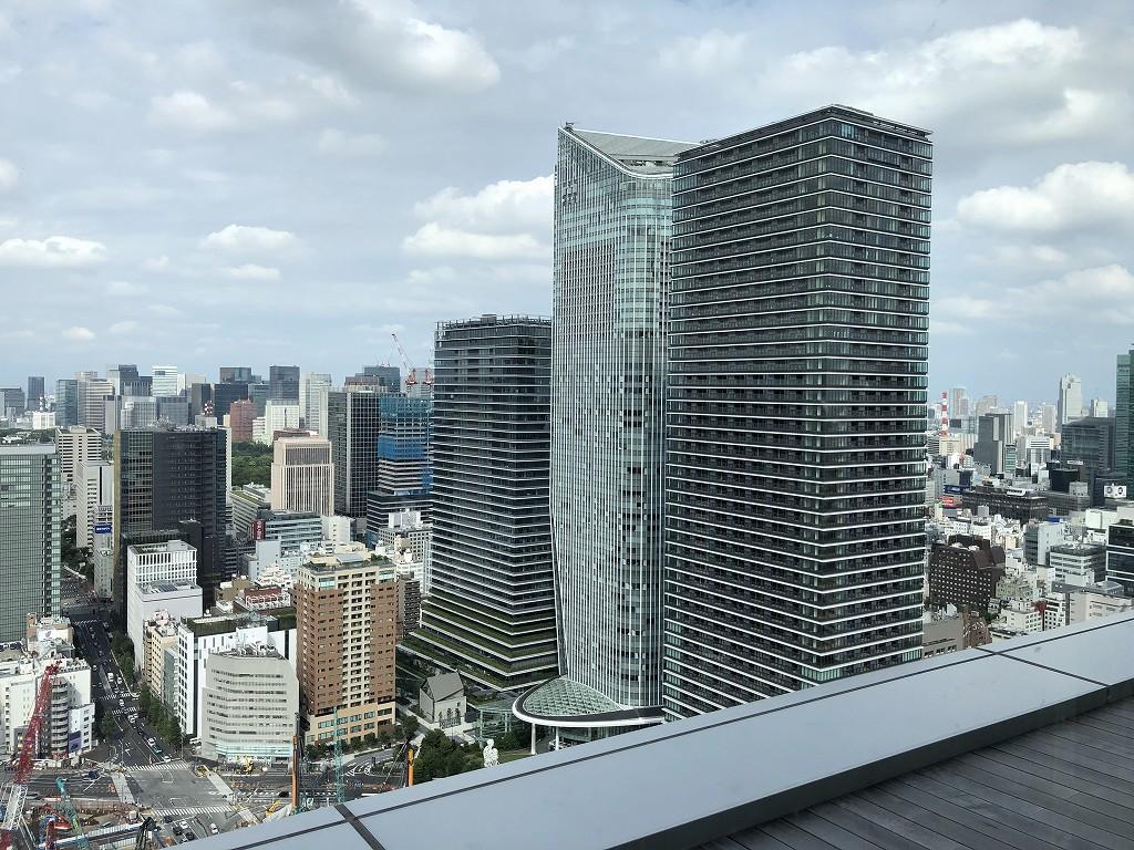 東京エディション虎ノ門のスタジオテラスからの眺め(昼間)3