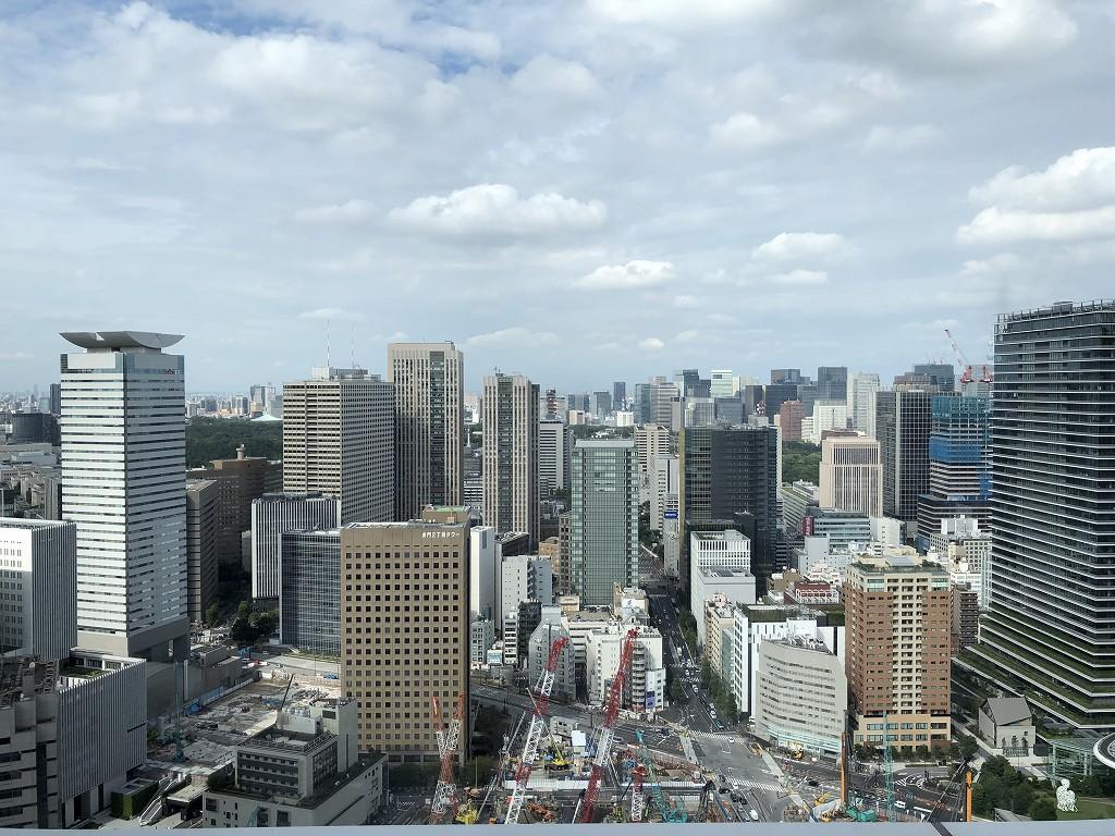 東京エディション虎ノ門のスタジオテラスからの眺め(昼間)1