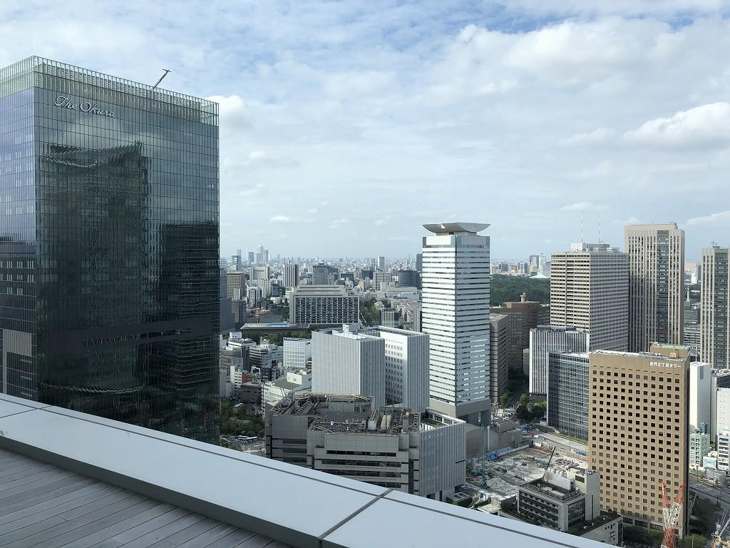 東京エディション虎ノ門のスタジオテラスからの眺め(昼間)2