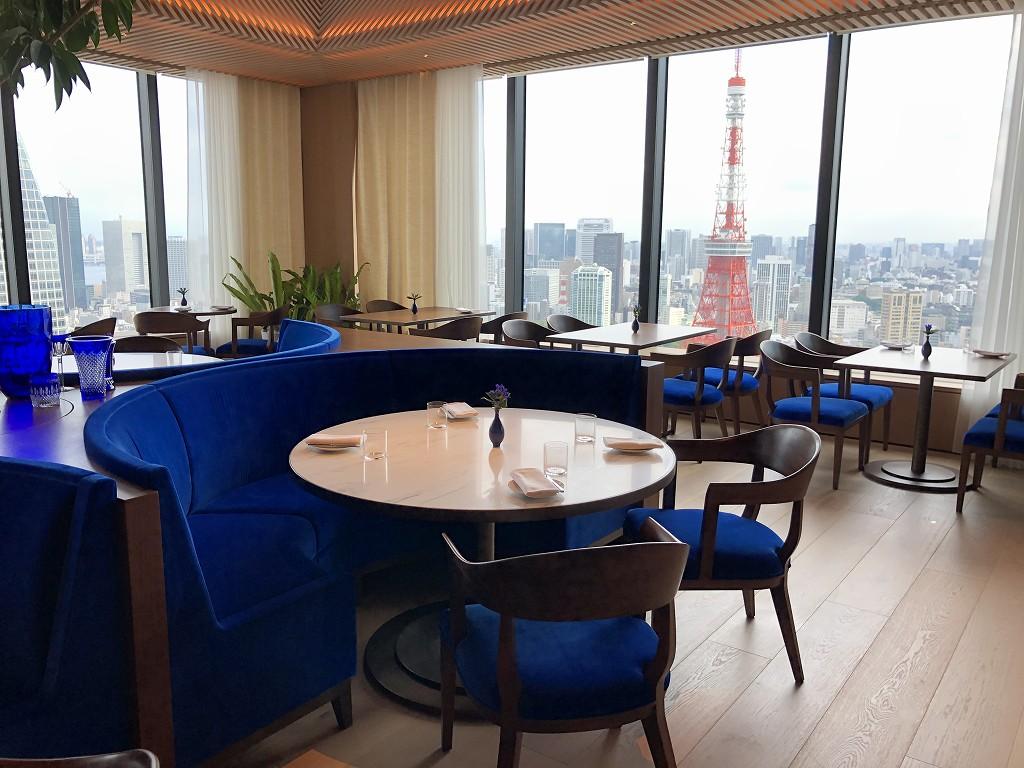 東京エディション虎ノ門のブルーレストラン