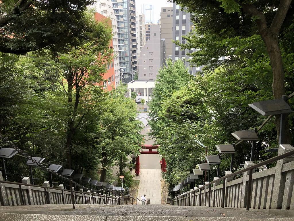 愛宕神社の出世の階段3