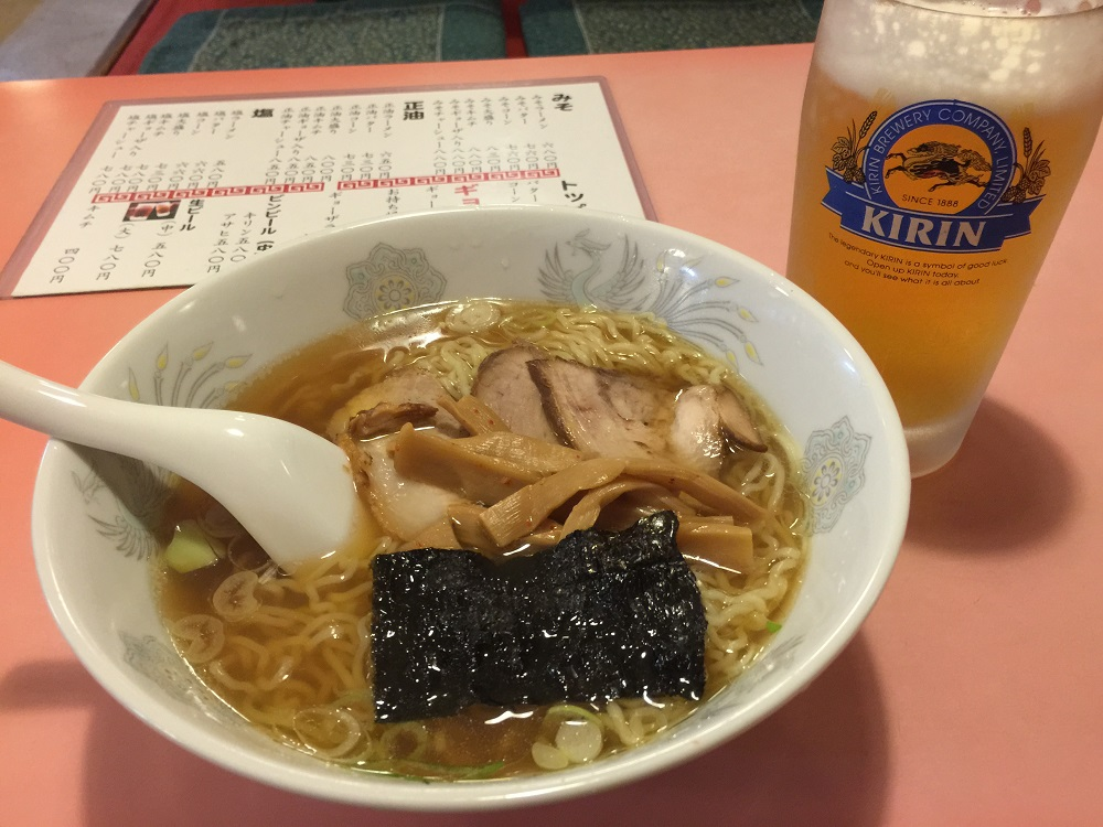 東京まんぷくラーメン醤油ラーメン