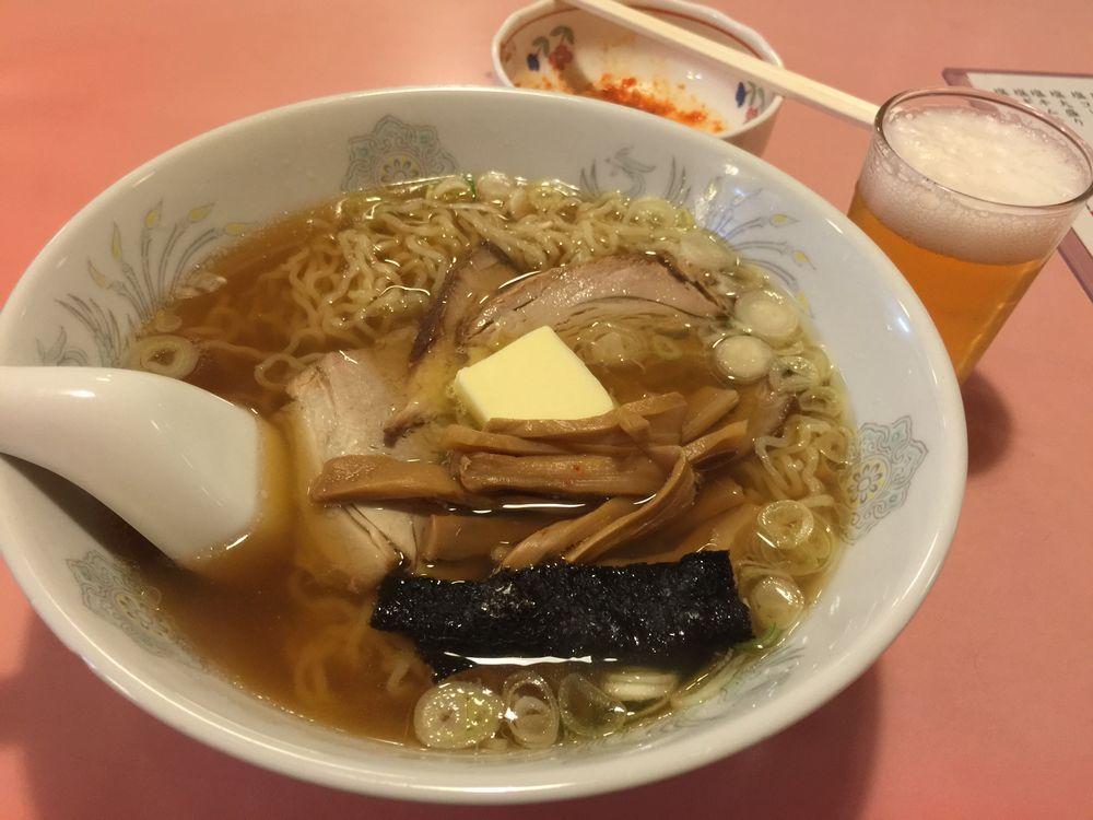 東京まんぷくラーメン大町店の塩バターラーメン
