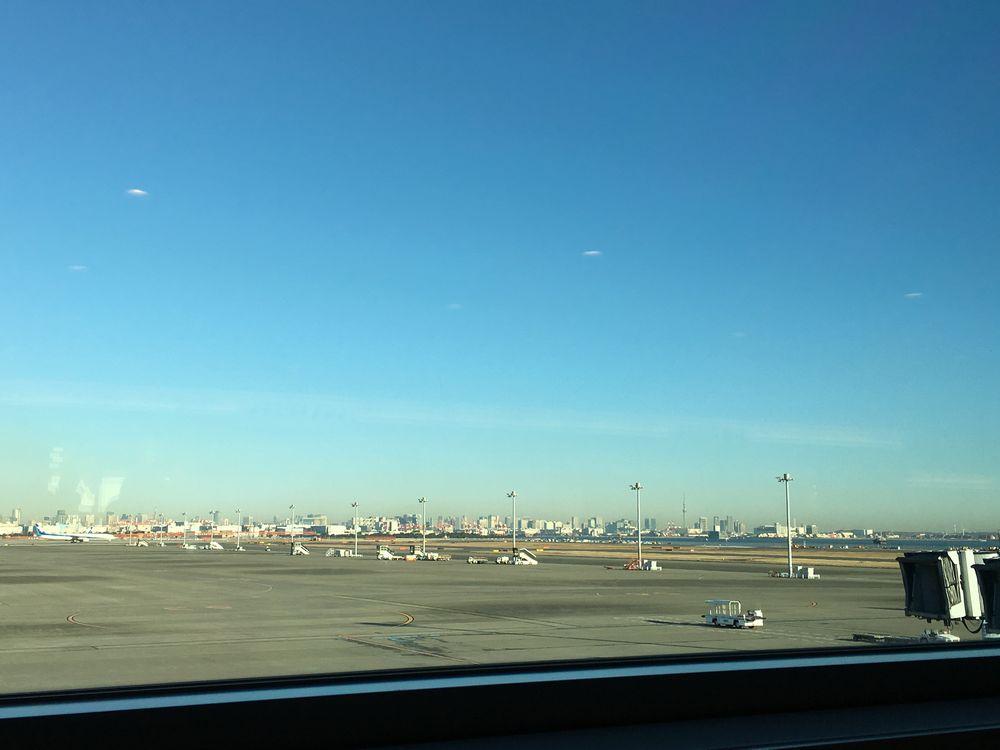 澄んだ東京の空