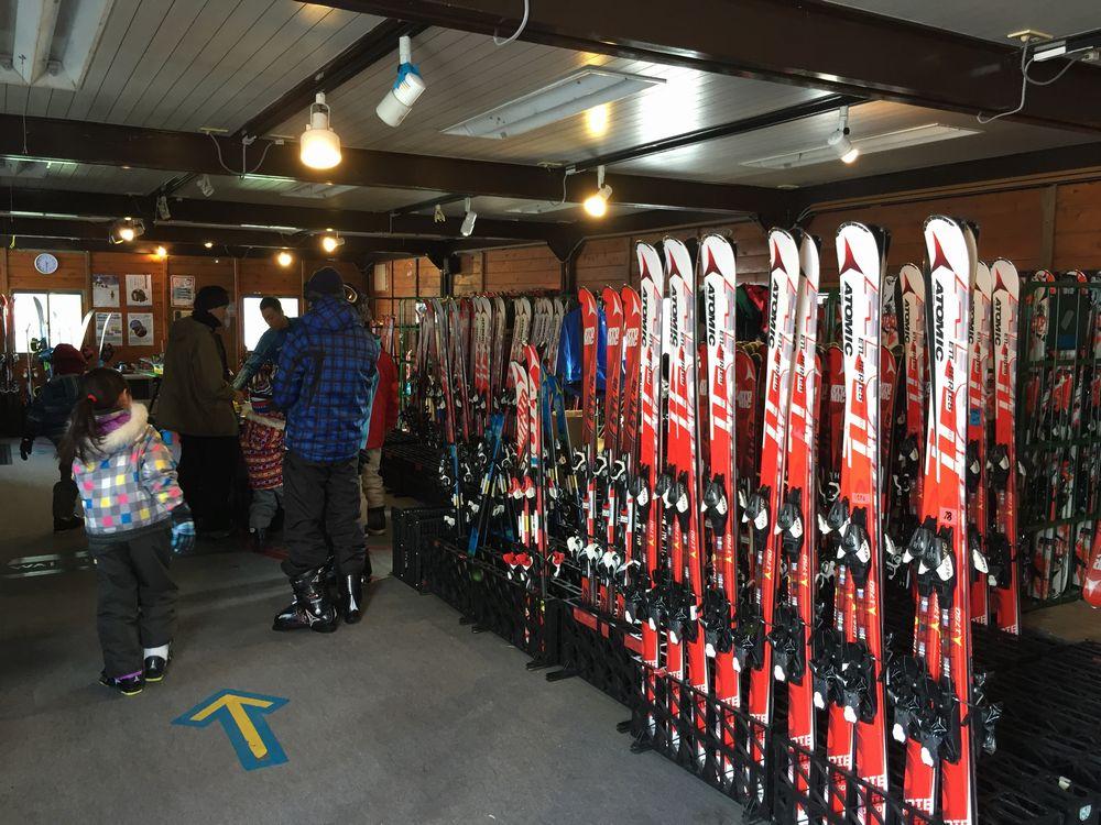 星野リゾート ザ・タワーのスキーレンタル2