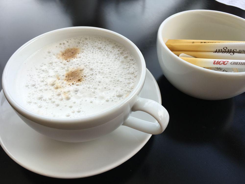 トマムのワッフル&スイーツ マム マーナのコーヒー
