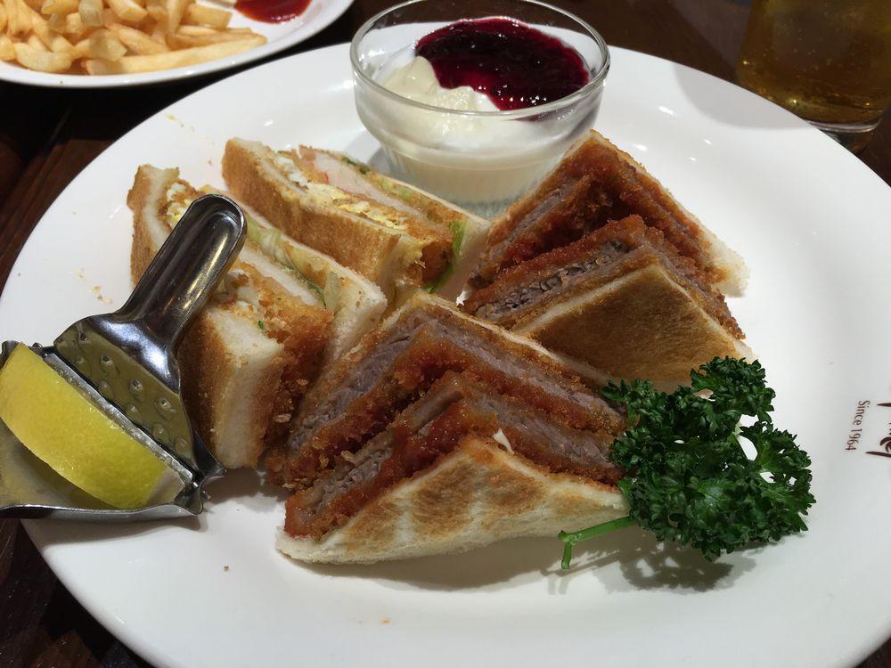 新千歳空港のサンドイッチ