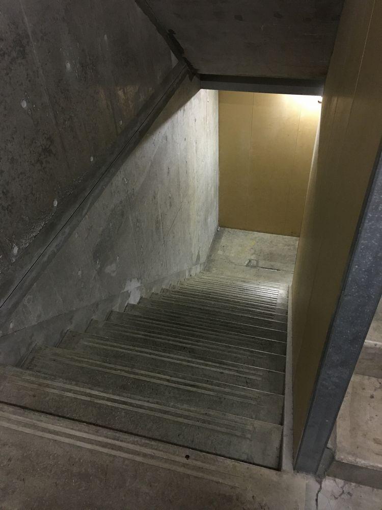 トマム ザ・タワーの非常階段