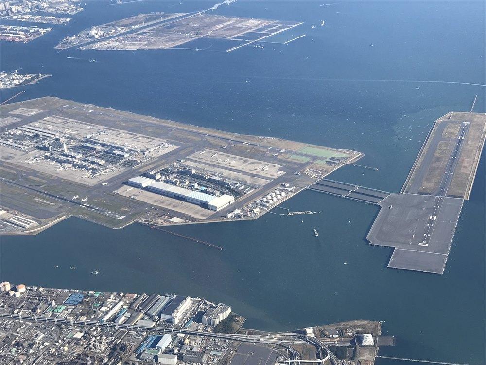 羽田空港の形