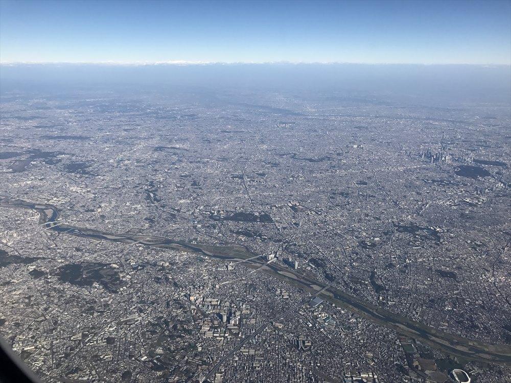 東京の住宅密集