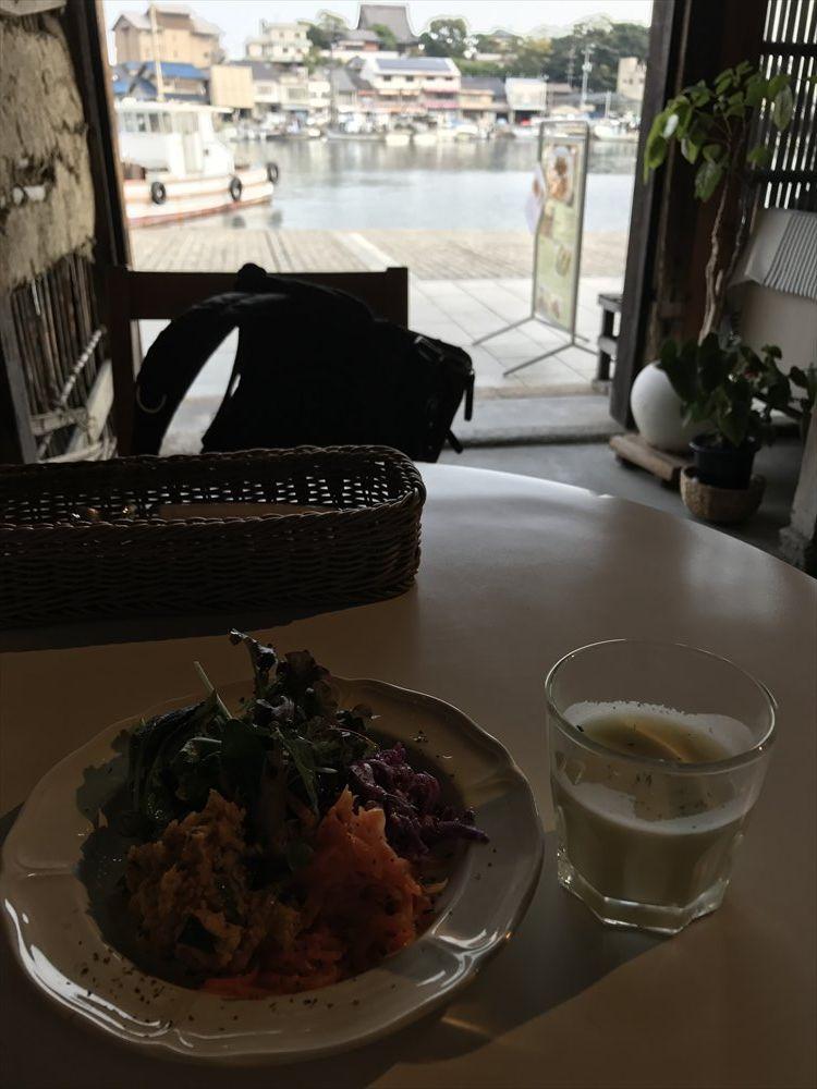 鞆の浦 a cafeからの眺め
