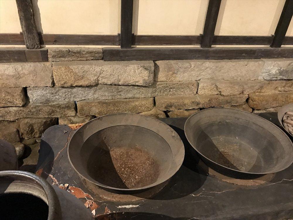 太田家住宅の炊事場