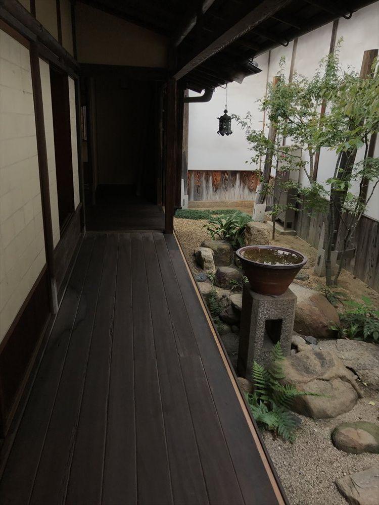 太田家住宅の鶯廊下