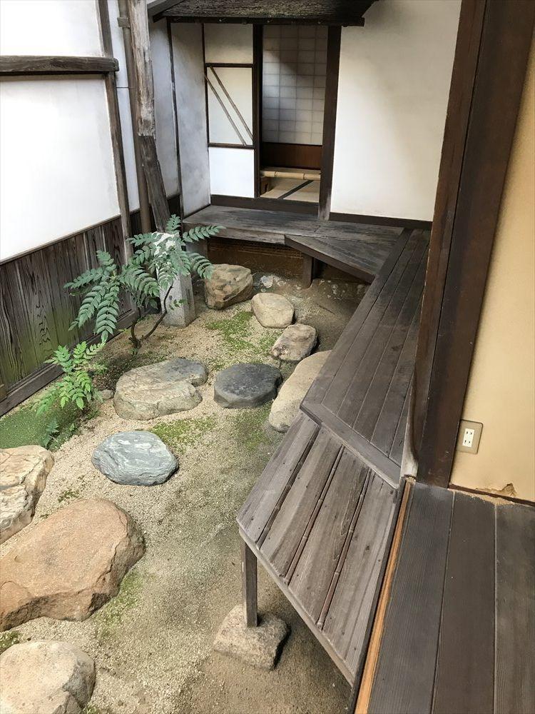 太田家住宅の廊下の変化