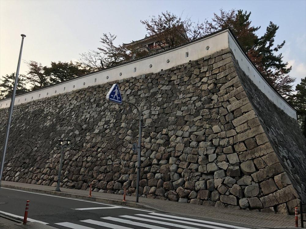 福山城の石垣