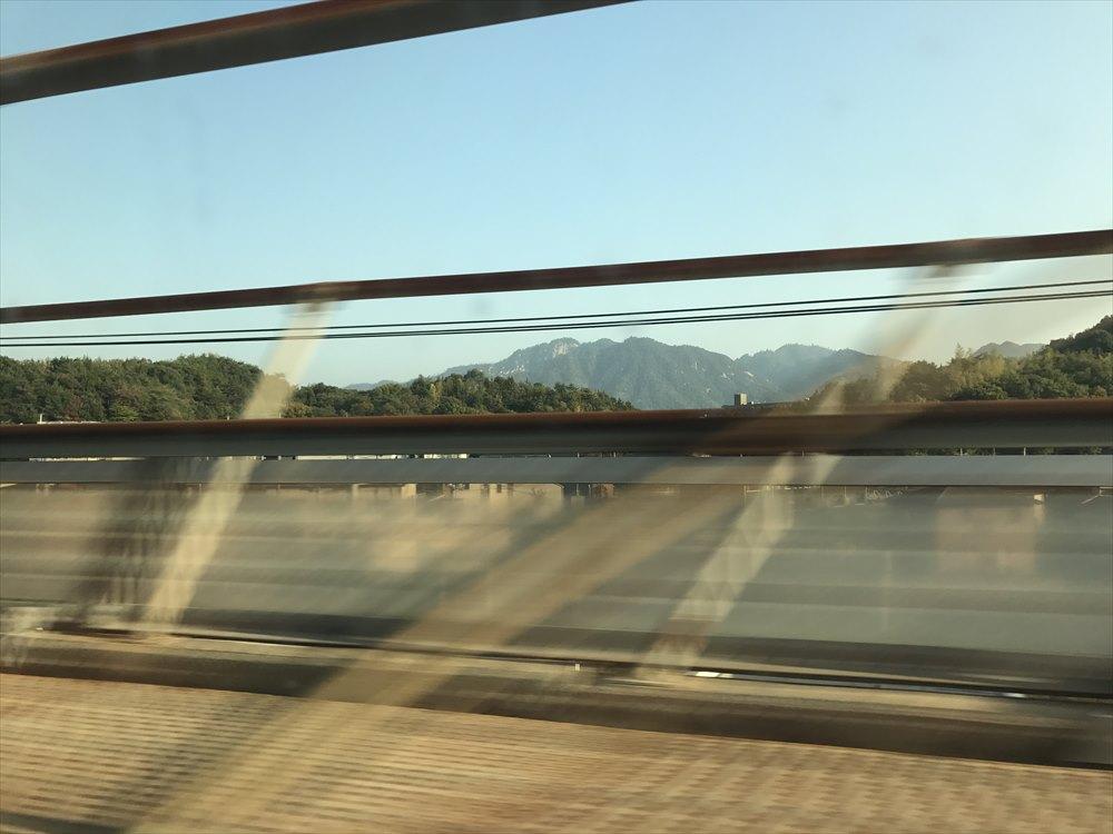 新幹線から厳島