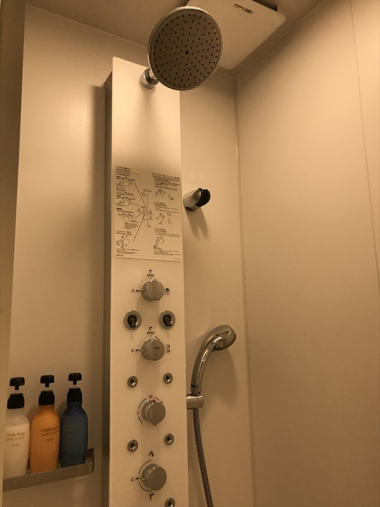 ザ・ビー福岡天神のスーペリアダブルルーム(多機能シャワー)