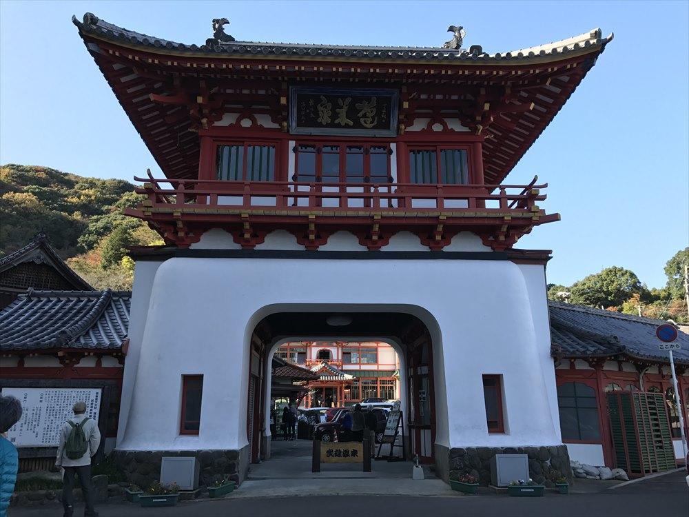 辰野金吾設計の武雄温泉楼門