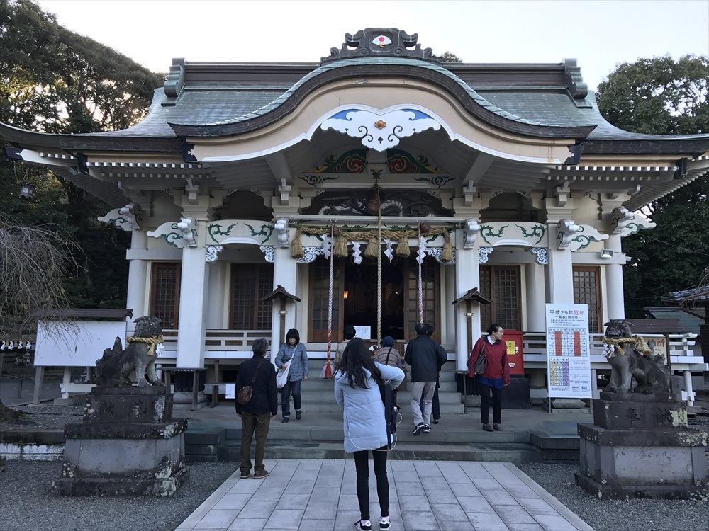 武雄神社の社殿