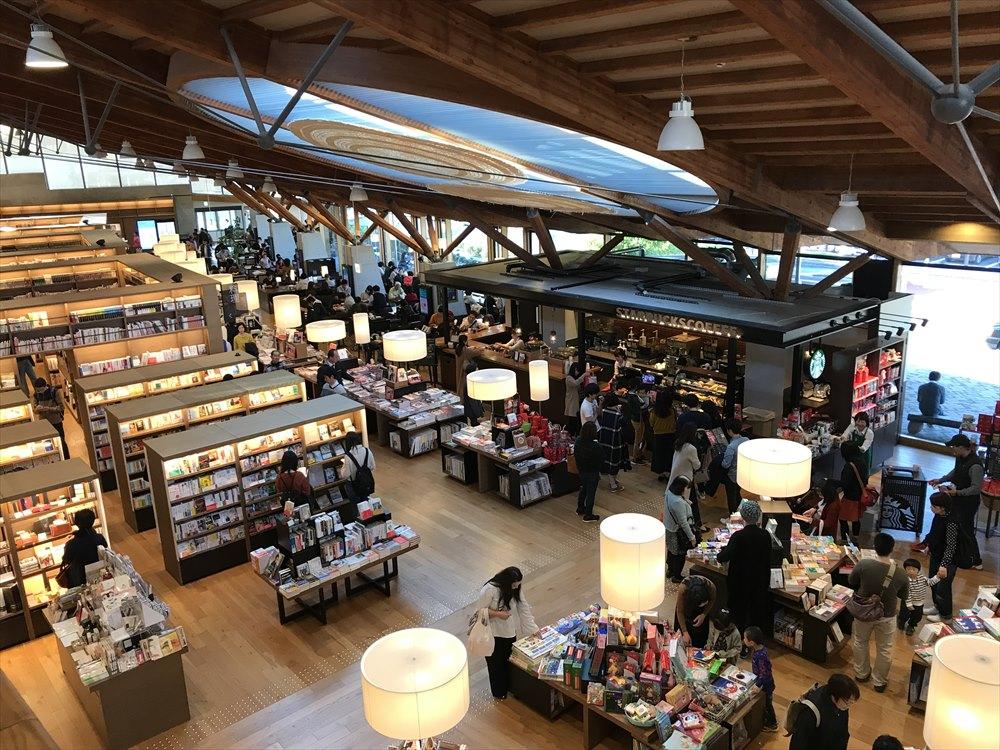 武雄市図書館のスターバックス