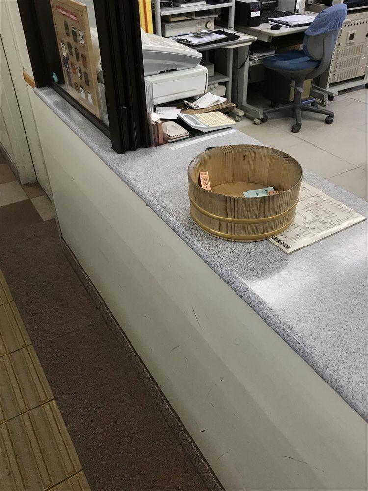 武雄温泉駅の改札