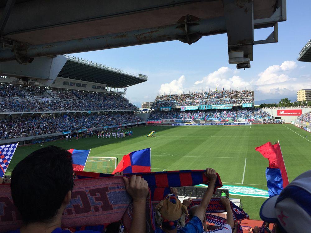 サガン鳥栖対FC東京キックオフ画像