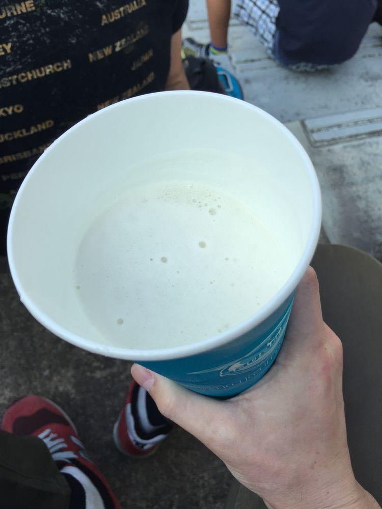 ベアスタの生ビール画像