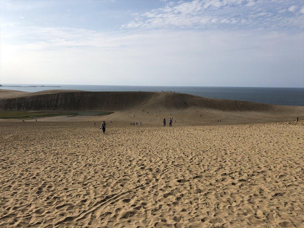 鳥取砂丘の光景1