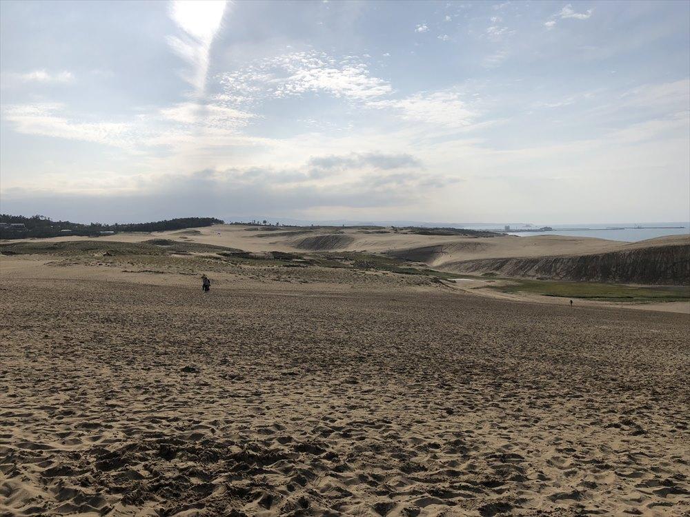 鳥取砂丘の光景3