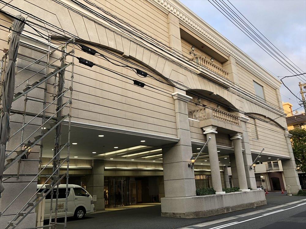 ホテルモナーク鳥取の外観