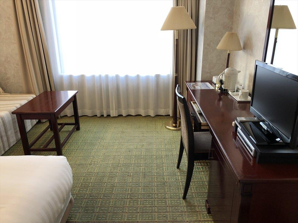 ホテルモナーク鳥取のデラックスシングルルーム1