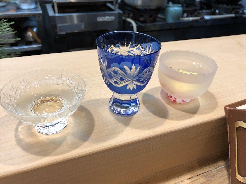 鳥取の笹すしの飲み比べ