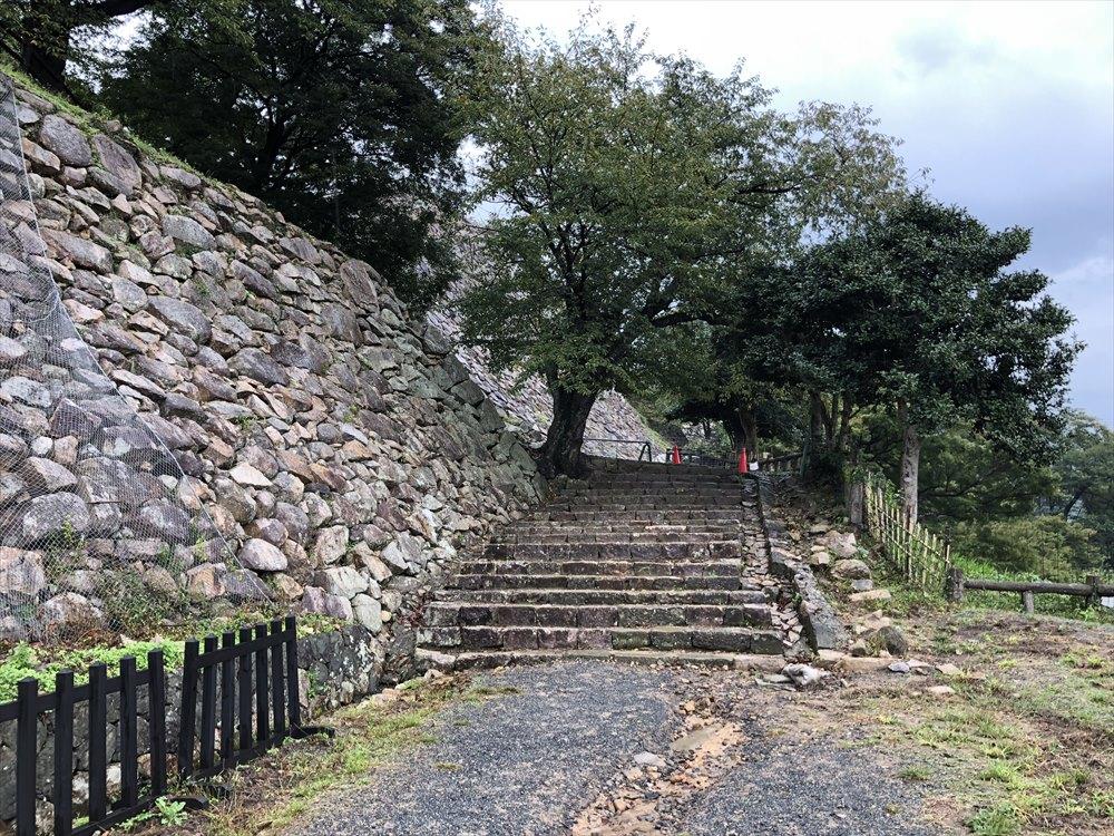 鳥取城登城2