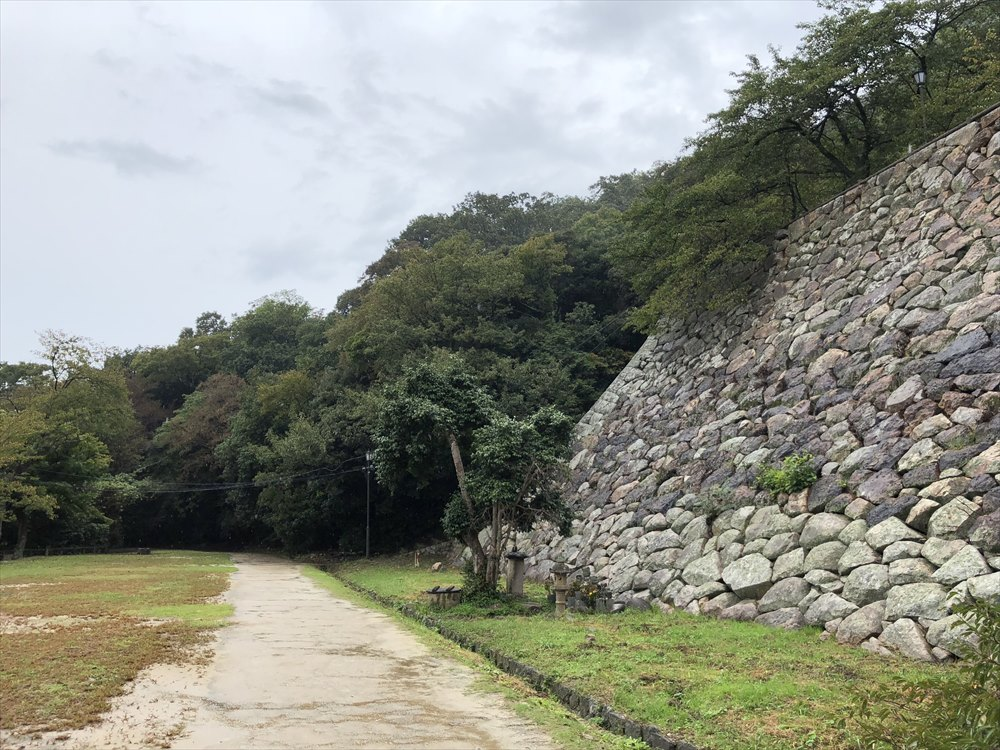 鳥取城登城4