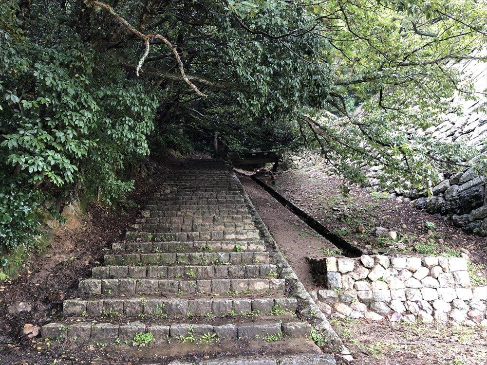 鳥取城登城5
