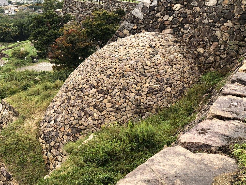 天球丸の巻石垣2
