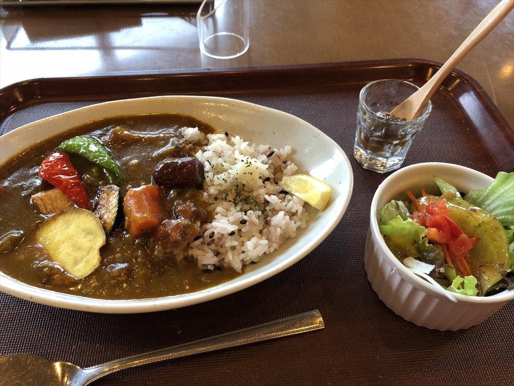 鳥取県立博物館のカフェ・ダール ミュゼの薬膳カレー