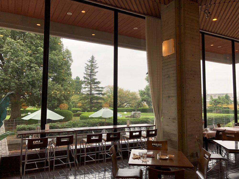 鳥取県立博物館のカフェ・ダール ミュゼの内観