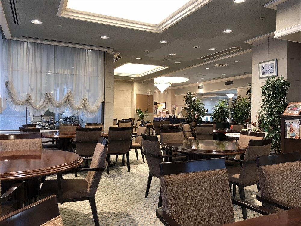ホテルモナーク鳥取のカフェ