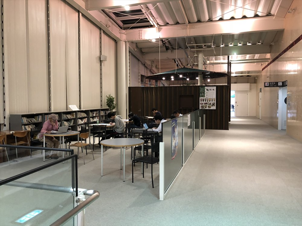 鳥取空港の無料休憩所