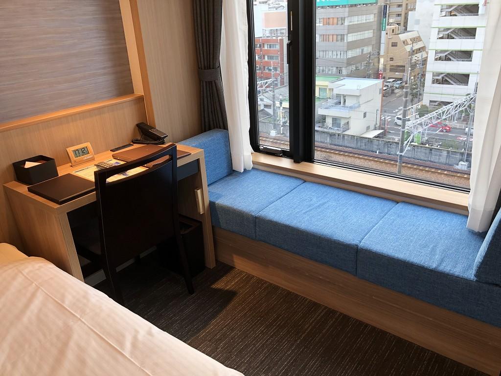 アットインホテル豊田市駅のダブルルーム2