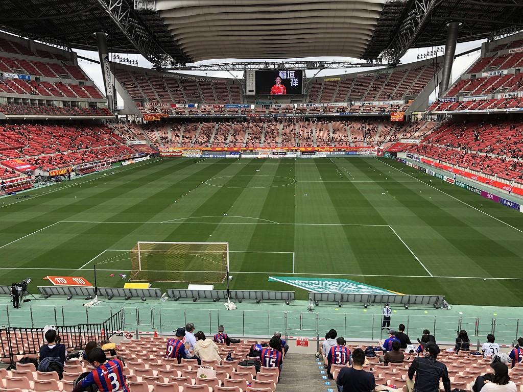 豊田スタジアムのSスタンド