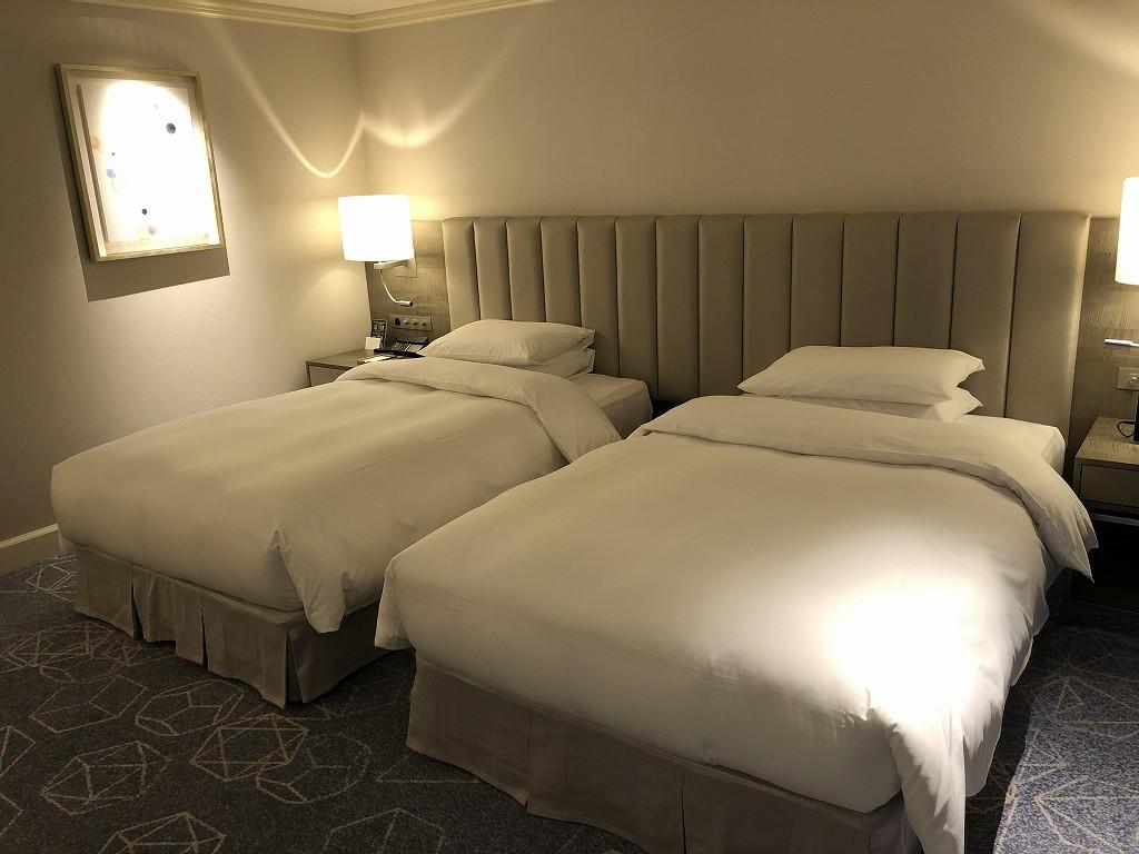 名古屋マリオットアソシアホテルのデラックスツインルーム3