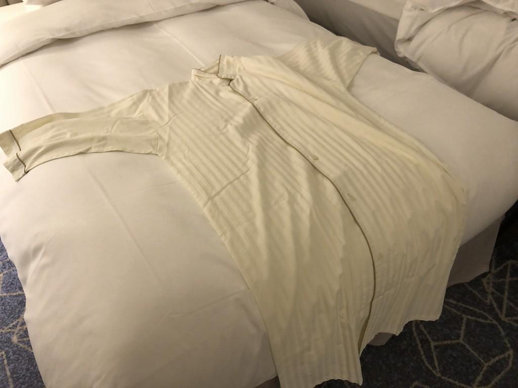 名古屋マリオットアソシアホテルのワンピースのパジャマ