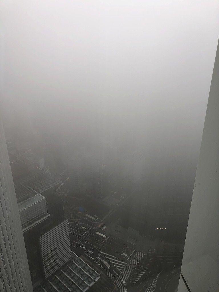 名古屋マリオットアソシアホテルから曇り空2